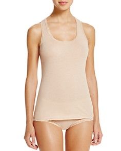 Fine Lines - Pure Cotton Wide Strap Tank & Briefs