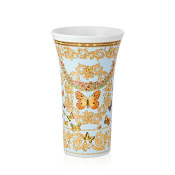 "Versace - Butterfly Garden Vase, 10"""