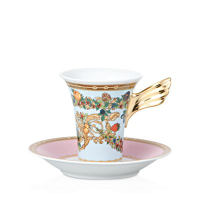 Versace Butterfly Garden High Teacup by Rosenthal Meets Versace