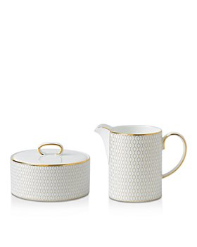 Wedgwood - Arris Cream & Sugar Set