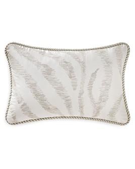 "Waterford - Marcello Stitch Decorative Pillow, 12"" x 18"""