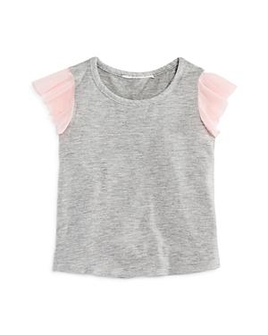 Bloomie's Girls' Flutter-Sleeve Top, Baby - 100% Exclusive
