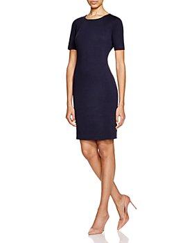 T Tahari - Judianne Short Sleeve Fitted Sheath Dress - 100% Exclusive