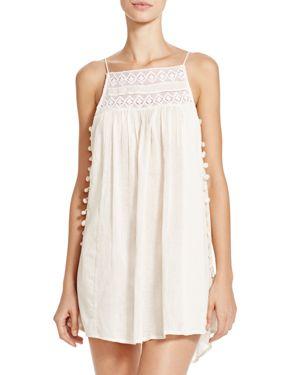 Boho Me Pom Pom Mini Dress Swim Cover-Up 1666234