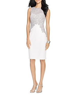 Lauren Ralph Lauren Lace Trim Dress