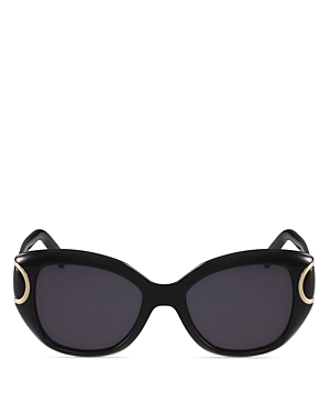 Salvatore Ferragamo Women's Signature Cat Eye Sunglasses, 54mm