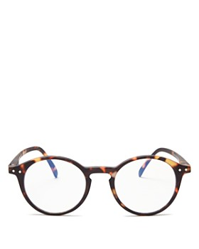 IZIPIZI - Collection D Round Blue Light Glasses, 40mm