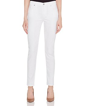 7 For All Mankind - Skinny Jeans in White Twill - 100% Exclusive