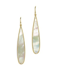 IPPOLITA - 18K Yellow Gold Rock Candy® Drop Earrings with Mother-of-Pearl