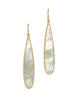 Ippolita 18K Yellow Gold Rock Candy Drop Earrings with Mother-of-Pearl