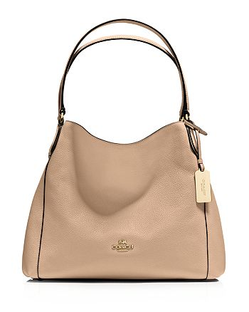 COACH - Edie Shoulder Bag 31 in Refined Pebble Leather 5de72f5aee5d2