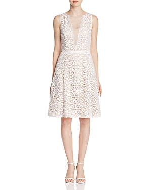 Adrianna Papell Crochet Lace Dress