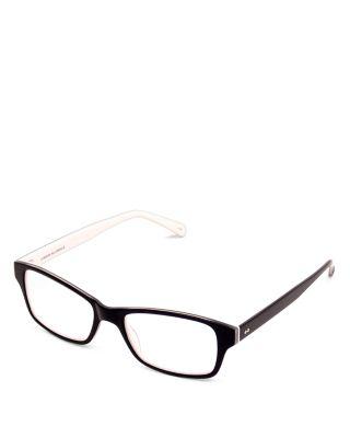 'Jess' 52Mm Reading Glasses - Black/ White