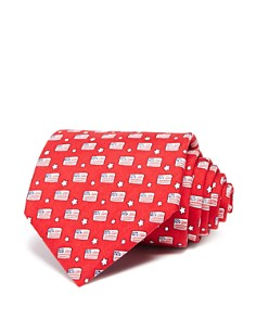 Vineyard Vines - Flags and Stars Wide Tie