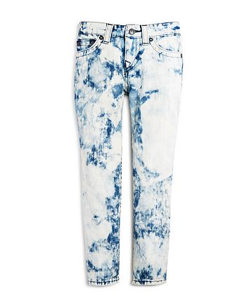 True Religion Boys' Geno Single End Bleached Jeans Sizes S