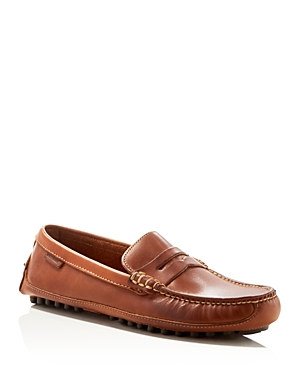 Cole Haan\\\'s laid-back take on the classic penny loafer makes a versatile addition to any repertoire.
