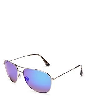Maui Jim - Women's Cliff House Mirrored Sunglasses, 59mm