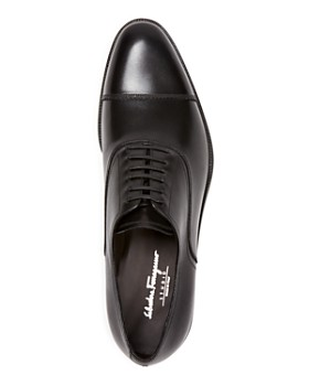 Salvatore Ferragamo - Men's Guru Cap Toe Leather Oxfords