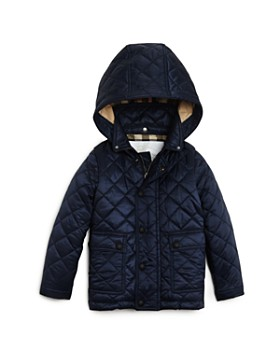 Burberry - Unisex Quilted Hooded Jacket - Baby