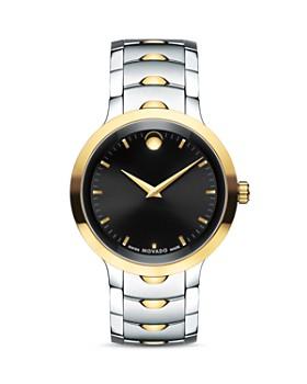 Movado - Two-Tone Luno Watch, 40mm