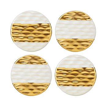 Michael Wainwright - Truro Gold Coasters, Set of 4