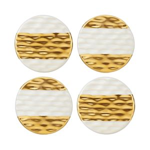 Michael Wainwright Truro Gold Coasters, Set of 4