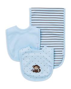 Little Me Infant Boys' Monkey Bib & Burp Cloth Set - Bloomingdale's_0