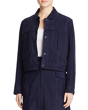 Click here for Whistles Romy Suede Jacket - 100 Bloomingdale Excl... prices