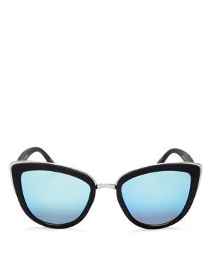 Quay Women's My Girl Mirrored Cat Eye Sunglasses, 55mm 1703128