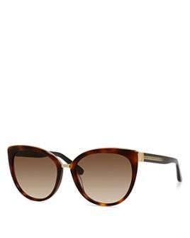 Jimmy Choo - Women's Dana Cat Eye Sunglasses, 56mm