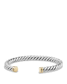 David Yurman - Cable Classics Cuff Bracelet with 18K Gold