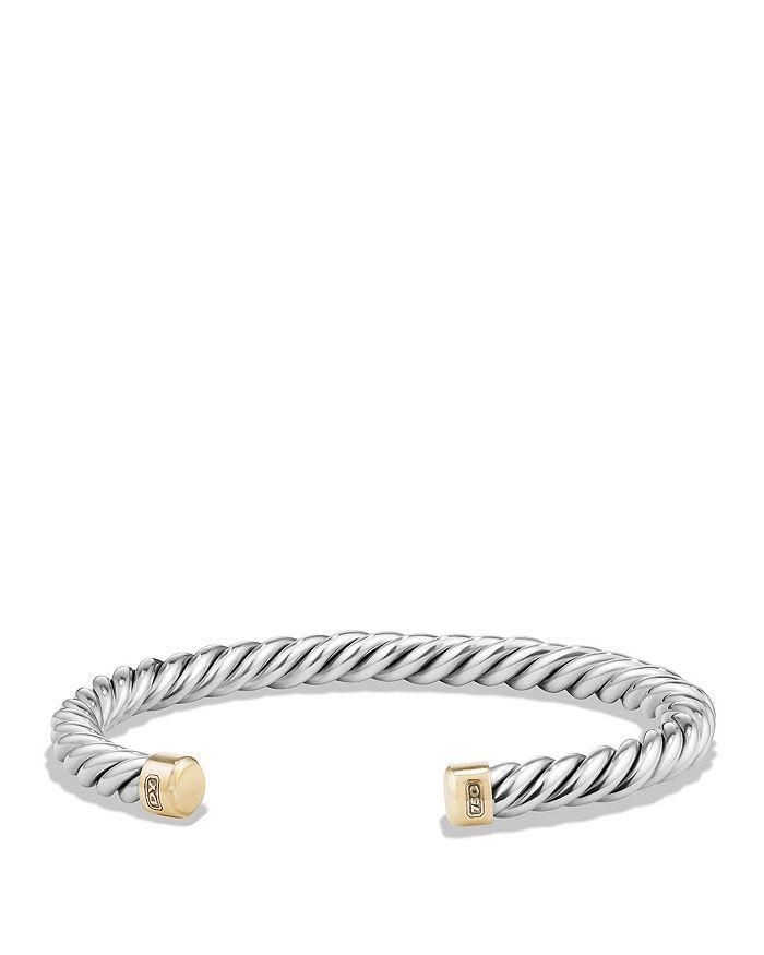 David Yurman - Cable Classic Cuff Bracelet with 18k Gold