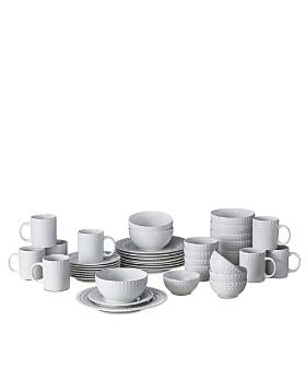 Mikasa - Dots 40-Piece Dinnerware Set