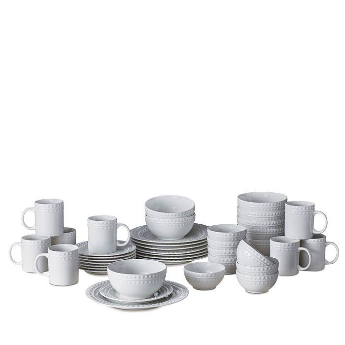 Gourmet Basics by Mikasa - Dots 40-Piece Dinnerware Set
