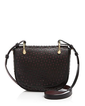 2028dd764f Elizabeth and James - Zoe Perforated Saddle Bag