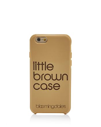 Bloomingdale's - Little Brown iPhone 7 Case