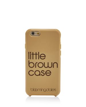 Bloomingdale's Little Brown iPhone 7 Case 2543901