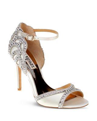 Badgley Mischka Roxy Vintage High-Heel