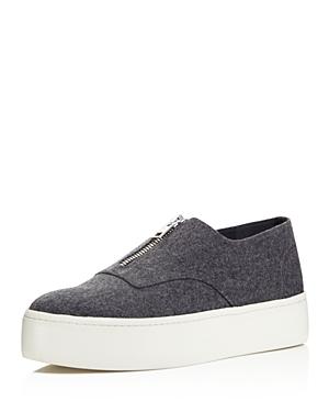 Vince Warner Flannel Platform Sneakers - 100% Exclusive