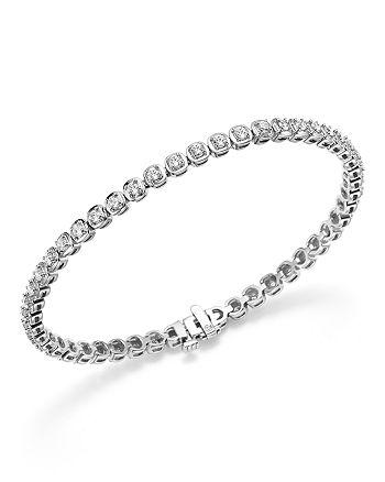 Bloomingdale's - Diamond Tennis Bracelet in 14K White Gold, 2.0 ct. t.w.- 100% Exclusive