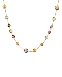 """Marco Bicego Mini Jaipur Multicolored Gemstone Necklace, 16"""" - Bloomingdale's_0"""