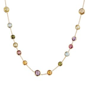 Marco Bicego Mini Jaipur Multicolored Gemstone Necklace, 16