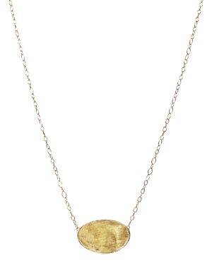 Marco Bicego 18K Yellow Gold Lunaria Pendant Necklace, 16.5