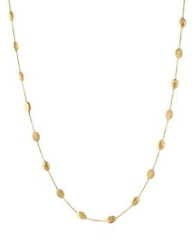"Marco Bicego - 18K Yellow Gold Siviglia Necklace, 16.5"" - 100% Exclusive"