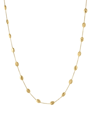 Marco Bicego 18K Yellow Gold Siviglia Necklace, 16.5 - 100% Exclusive