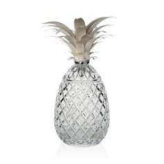 "William Yeoward Crystal ""Isadora Silver"" Pineapple Centerpiece, 11"" - Bloomingdale's Registry_0"