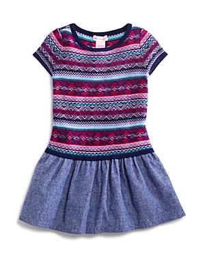 Design History Girls' Sweater & Chambray Dress - Sizes 2-6X