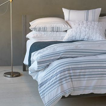 Coyuchi - Organic Cotton Geo Stripe Bedding Collection