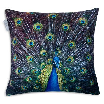 Madura - Royal Peacock Decorative Pillow Cover and Insert