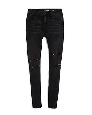 7 For All Mankind Girls Destroyed Skinny Jeans  Sizes 46X